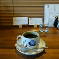 Photo taken at 江古田珈琲焙煎所 by Kyoji N. on 12/30/2016