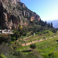 Photo taken at Archaeological Site of Delphi by André on 1/2/2013