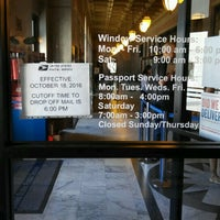 Photo taken at US Post Office by Mathew W. on 4/20/2017