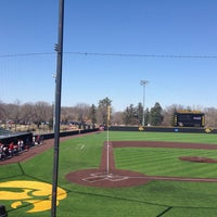 Photo taken at Duane Banks Field by Chelsea D. on 3/28/2015