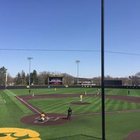 Photo taken at Duane Banks Field by Chelsea D. on 4/29/2018