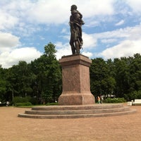 Photo taken at Памятник Багратиону by Олегушка О. on 6/7/2013