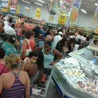 Photo taken at Supermercados Guanabara by Vanessa A. on 2/8/2013