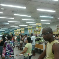 Photo taken at Supermercados Guanabara by Vanessa A. on 4/13/2013