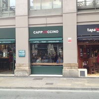 Photo taken at Cappuccino by Ira D. on 3/24/2013