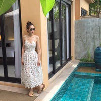 Photo taken at Library @ Asara Villa & Suite Hua Hin by Meaw D. on 8/2/2015