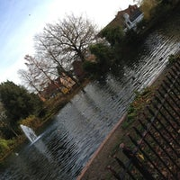 Photo taken at Bourne Hall Park by Amy O. on 11/23/2012