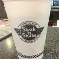 Photo taken at Steak 'n Shake by Haley Lynn T. on 6/2/2013