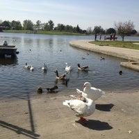 Photo taken at Lake Balboa Park by jess c. on 3/23/2013