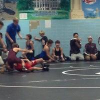 Photo taken at Oak Land Jr High by Germain B. on 11/8/2012