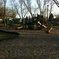 Photo taken at Joseph Dinoia, Jr Playground by Christina R. on 4/5/2013