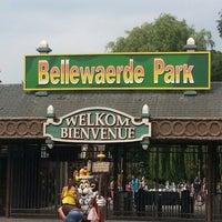 Photo taken at Bellewaerde by Jⓔsⓢiⓒa 🍸 on 7/14/2013