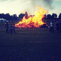 Photo taken at sonnwendfeuer by Sir F. on 6/22/2013