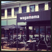 Photo taken at wagamama by Ian C. on 7/6/2013