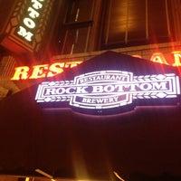 Photo taken at Rock Bottom Restaurant & Brewery by Kristen E. on 10/14/2012