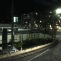Photo taken at 用賀パーキングエリア バス停 by あさどや ゆ. on 12/30/2017