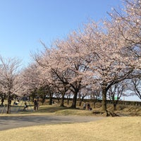 Photo taken at 常願寺川公園 by Stepy_stepie on 4/13/2013