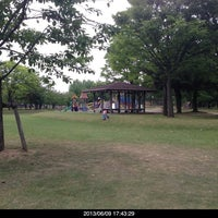Photo taken at 常願寺川公園 by Stepy_stepie on 6/9/2013