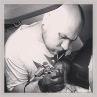 Photo taken at Flatline Tattoos by Tommy H. on 5/16/2013