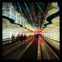 Photo taken at 'The Sky's The Limit' Underground Walkway by John V. on 12/25/2012