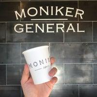 Photo prise au Moniker Coffee Co. par Dano le11/22/2017