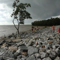 Photo taken at Pontian Sea Side by Shaffie Y. on 2/15/2013