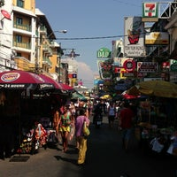 Photo taken at Khao San Road by Robert P. on 3/25/2013