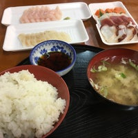 Photo taken at 八戸市営魚菜小売市場 by しまうま on 4/7/2017