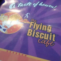Photo taken at The Flying Biscuit Cafe by Andy C. on 3/30/2013
