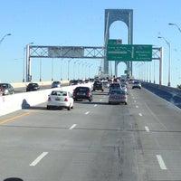 Photo taken at Bronx-Whitestone Bridge by Gian U. on 10/11/2012