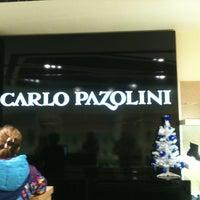 Photo taken at Carlo Pazolini ТЦ Макси by Alexey P. on 12/31/2012