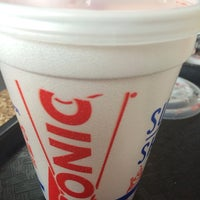 Photo taken at SONIC Drive In by Nathan Z. on 10/11/2013