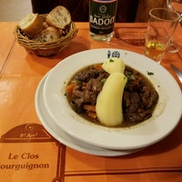 Photo taken at Le Clos Bourguignon by Kuo-yu L. on 10/29/2017