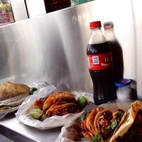Photo taken at Taquería López by Nöëmï A. on 7/13/2014