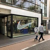 Photo taken at Nike+ Run Club Nakameguro by xavier_1119 on 4/7/2018