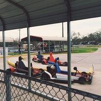 Photo taken at Houston Grand Prix by Michael I. on 3/9/2014