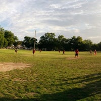 Photo taken at Gillis Park by Mike H. on 6/18/2014