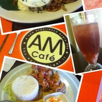 Photo taken at AM Cafe by Darren C. on 1/18/2013