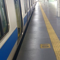 Photo taken at Platforms 9-10 by Akihiko H. on 5/18/2013