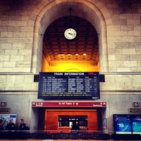 Photo taken at New Haven Union Station (NHV) - Metro North/Amtrak/Shore Line East by Stephen H. on 5/13/2013