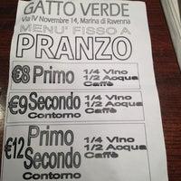 Photo taken at Il Gatto Verde by pirovucat on 11/29/2012