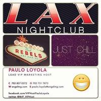 Photo taken at LAX Nightclub by Paulo L. on 1/26/2013