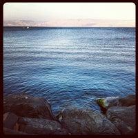 Photo taken at Sea of Galilee - Kinneret (כנרת) by Shlomi O. on 6/30/2013