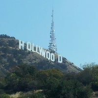 Photo taken at Hollywood Sign Vista Point by iz s. on 4/23/2013