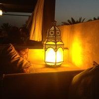 Photo taken at Rooftop Bar Bab Al Shams by Vanessa on 2/23/2013