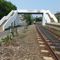 Photo taken at Bentota Railway Station by Boris M. on 2/22/2014