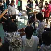 Photo taken at 浦賀小学校 by tajitajiko on 1/18/2013