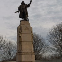 Photo taken at Christopher Columbus Monument by Carl Brioschi by Jack M. on 12/6/2012