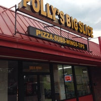 Photo taken at Polly's Big Slice by Ben R. on 8/23/2014