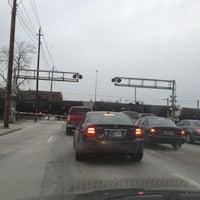 Photo taken at Michigan Street Railroad Crossing by Ben R. on 1/15/2013